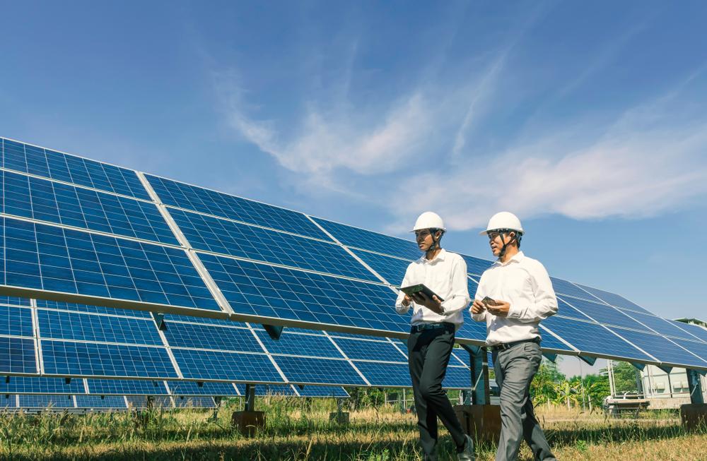 Les panneaux solaires photovoltaïques pour produire de l'électricité